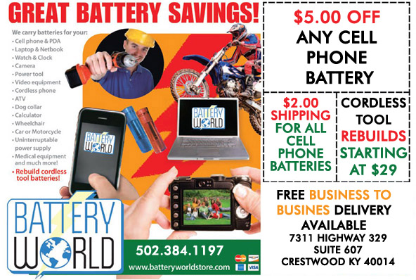 picture relating to Printable Battery Coupons known as Coupon codes for Battery Global - Louisville, KY